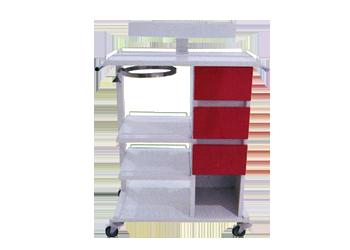 Carro rojo de urgencias carro rojo enfermeria - Pintura magnetica precio ...
